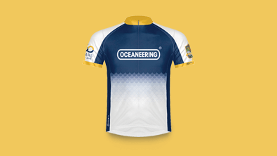 Project: Oceaneering MS150 Jersey Design
